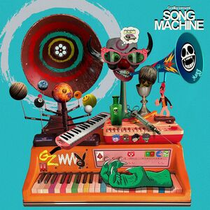 GORILLAZ PRESENTS SONG MACHINE, SEASON 1 (BLUE VINYL)