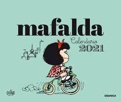 2021 MAFALDA CALENDARIO CAJA - VERDE