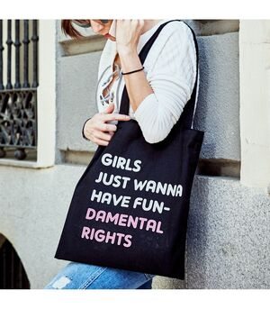 BOLSA GIRLS JUST WANNA HAVE FUNDAMENTAL RIGHTS