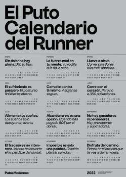 PUTO CALENDARIO DEL RUNNER 2022, EL