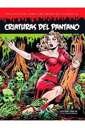 CRIATURAS DEL PANTANO BIBLIOTECA COMICS TERROR AÑO 50 VOL 5