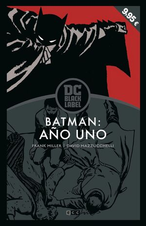 BATMAN: AÑO UNO (EDICIÓN DC BLACK LABEL) (3A EDICION)