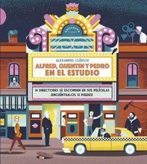 ALFRED, QUENTIN Y PEDRO EN EL ESTUDIO