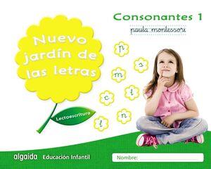 NUEVO JARDÍN DE LAS LETRAS. CONSONANTES 1. PAUTA