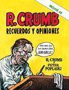 ROBERT CRUMB RECUERDOS Y OPINIONES + CD ALBUM
