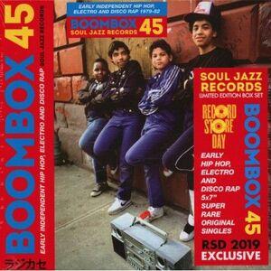BOOMBOX  45 BOX SET 5X7