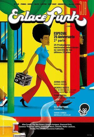 REVISTA ENLACE FUNK NÚMERO 68. ESPECIAL 25 AÑOS. + SINGLE