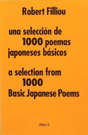 UNA SELECCIÓN DE 1000 POEMAS JAPONESES BÁSICOS